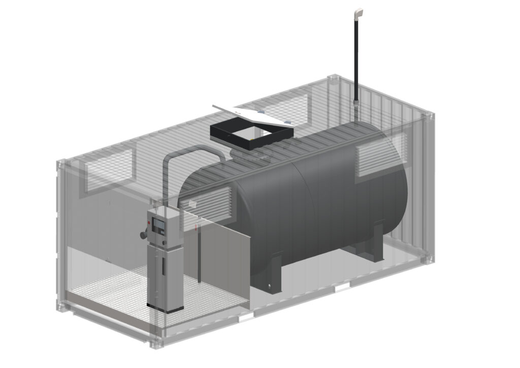 EN12285-2 Container